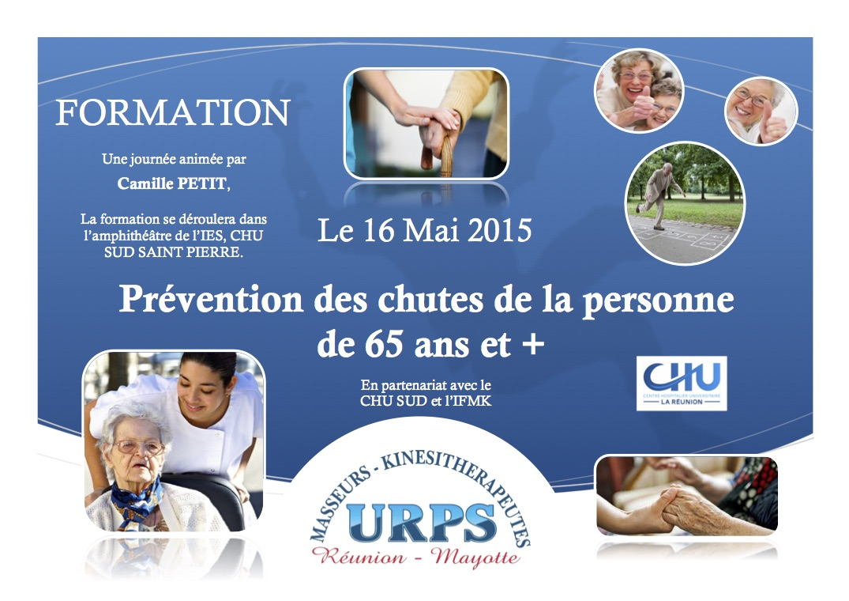 Affichette Formation prevention chute
