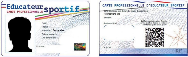 demande carte professionnelle sport N'oubliez pas de demander votre carte d'éducateur sportif   URPS MK OI